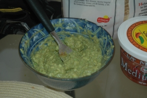 serve with salsa, and/or homemade guacamole!